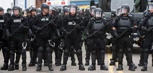 martial law police